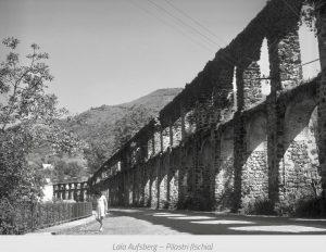 acquedotto romano di ischia, i pilastri