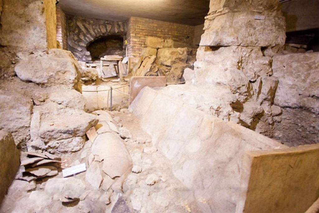 scavi di santa restituta a ischia